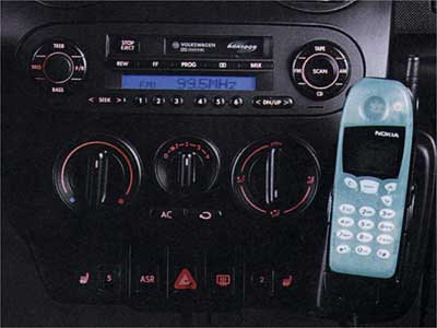 2002 Volkswagen Passat Hands-Free Cell Phone Install Kit