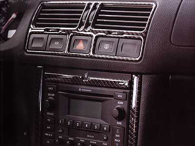 2002 Volkswagen New Beetle Real Carbon Fiber Trim Kit