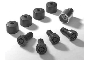 2011 Volkswagen Touareg Lockable Wheel Bolts - set of 4 -  000-071-599