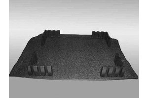 2014 Volkswagen Touareg Heavy Duty Trunk Liner with  7P0-061-166-A-469
