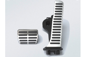 2014 Volkswagen Jetta Sport Pedal Caps, Automatic 1K1-064-205-A