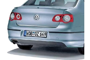 2008 Volkswagen Passat Rear valance - Exhaust exit on left I4/V6 - Painted