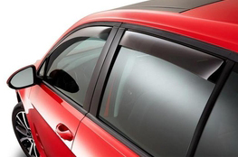 2015 Volkswagen e-Golf Side Window Air Deflectors
