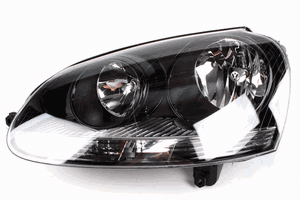 2007 Volkswagen Jetta Darkened Headlamps (Halogen)