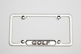 2015 Volkswagen e-Golf License Plate frame - Golf - Polish 5G0-071-801