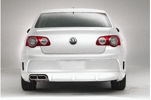 2006 Volkswagen Passat HI DEF Rear Bumper - single tone - FWD - painted