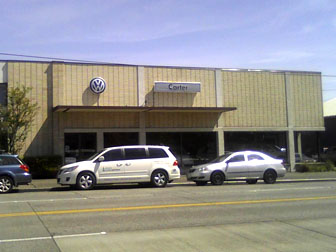 Carter Volkswagen dealership